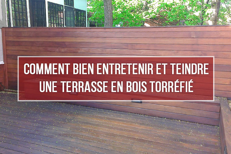 comment bien entretenir une terrasse en bois torr fi probois. Black Bedroom Furniture Sets. Home Design Ideas