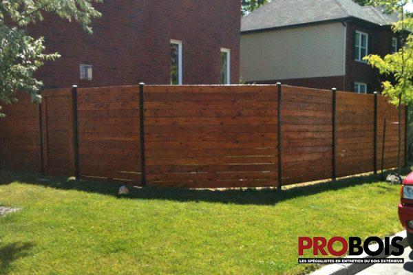 probois cloture en bois wooden fence 001