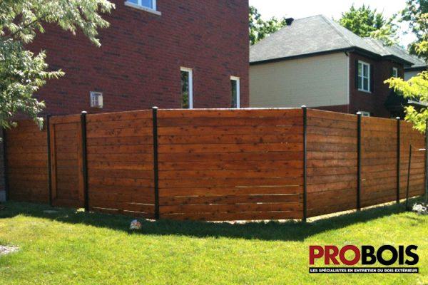 probois cloture en bois wooden fence 002