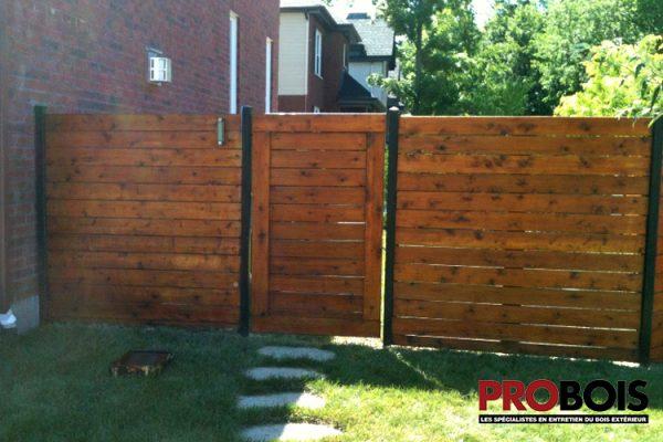 probois cloture en bois wooden fence 003