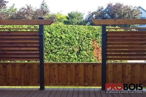 probois cloture en bois wooden fence 004