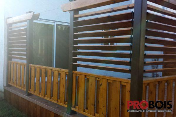 probois cloture en bois wooden fence 006