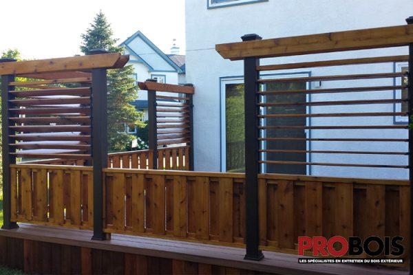 probois cloture en bois wooden fence 007
