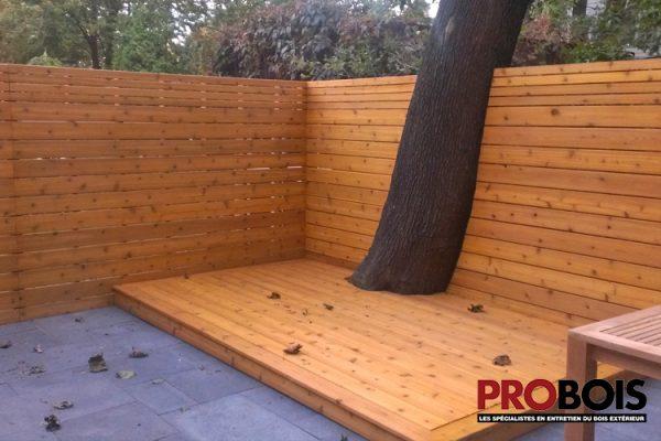 probois cloture en bois wooden fence 021