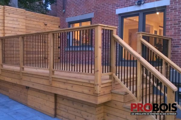 probois cloture en bois wooden fence 022