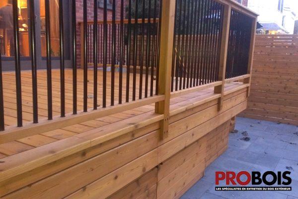 probois cloture en bois wooden fence 024