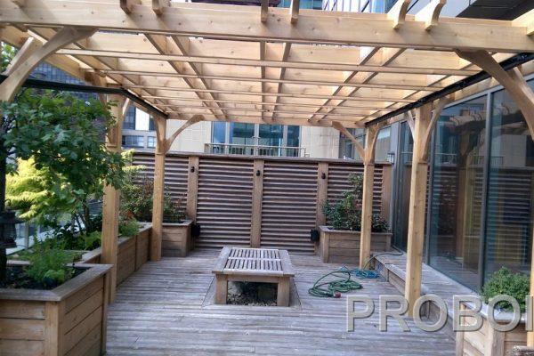 Probois teinture entretien patio 201