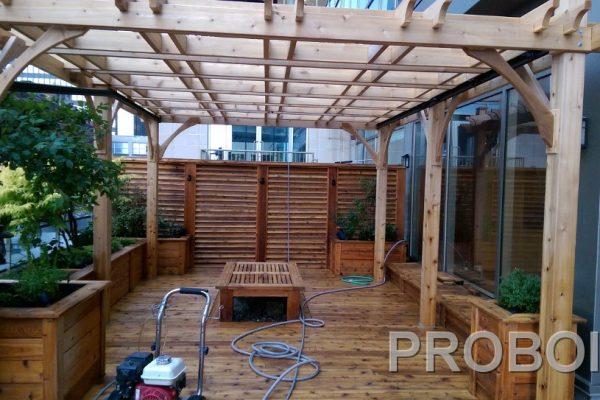 Probois teinture entretien patio 202