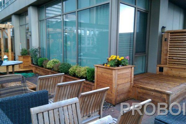 Probois teinture entretien patio 206