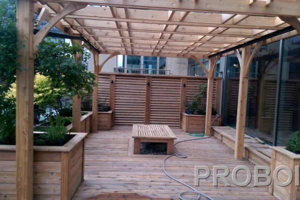 Probois teinture entretien patio 208