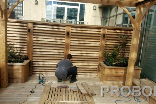 Probois teinture entretien patio 209