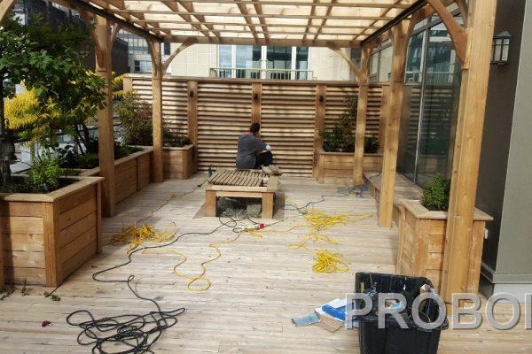 Probois teinture entretien patio 210