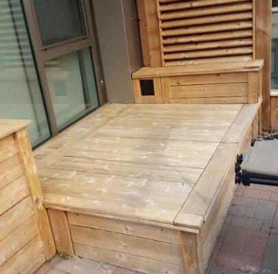 Probois teinture entretien patio 216