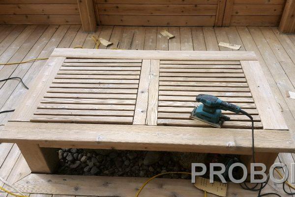 Probois teinture entretien patio 217