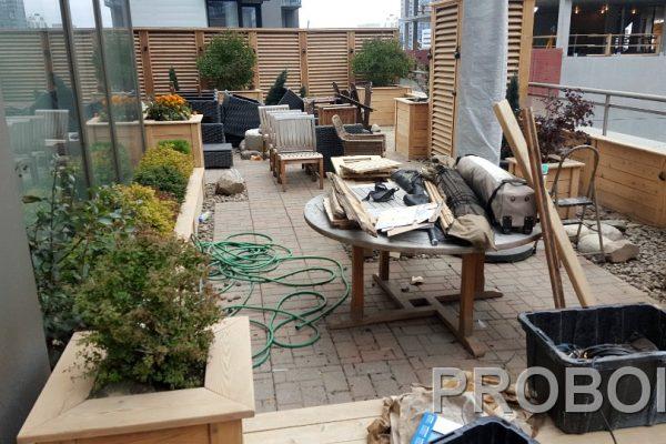 Probois teinture entretien patio 220