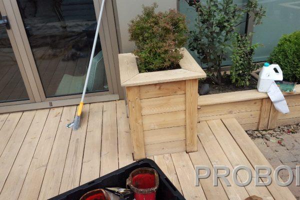 Probois teinture entretien patio 224