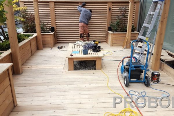 Probois teinture entretien patio 225