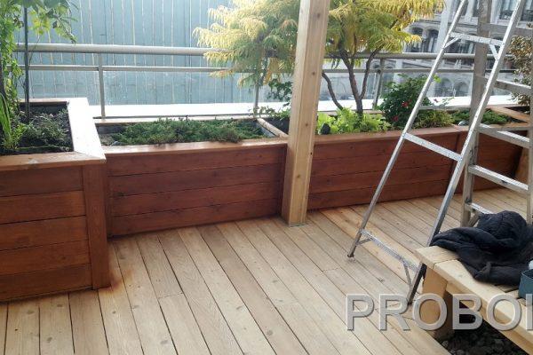 Probois teinture entretien patio 227
