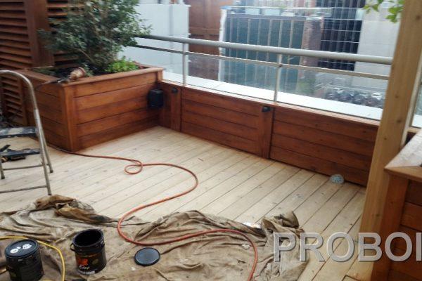 Probois teinture entretien patio 228