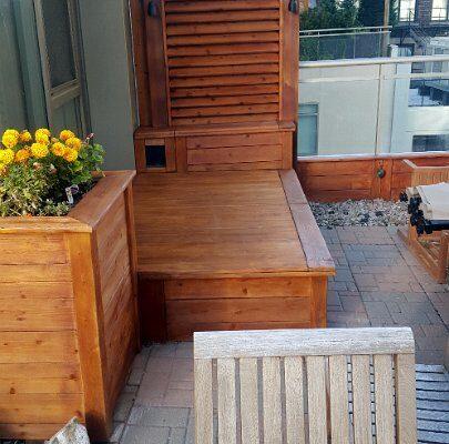 Probois teinture entretien patio 230