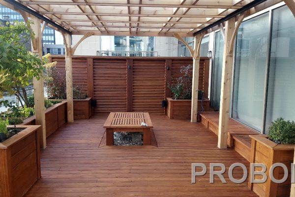 Probois teinture entretien patio 238