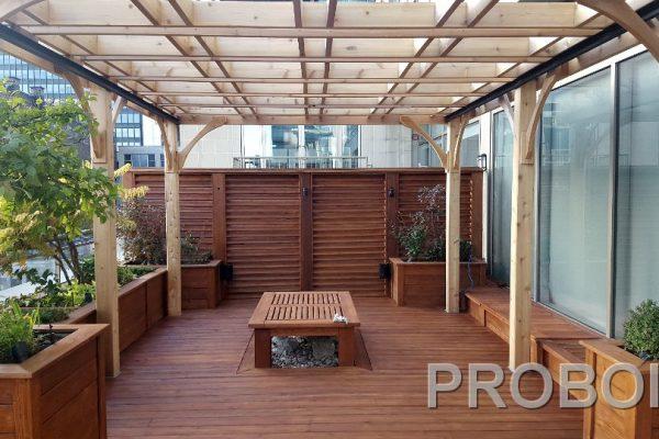 Probois teinture entretien patio 239