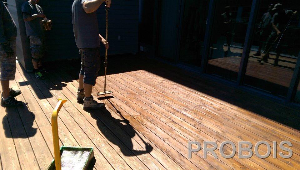 probois teinture entretien patio 244 probois les sp cialistes en entretien du bois. Black Bedroom Furniture Sets. Home Design Ideas