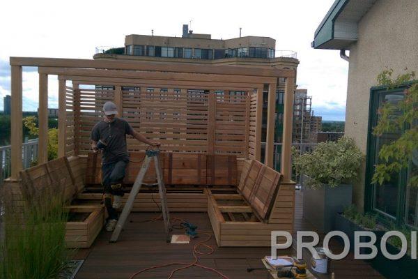 Probois teinture entretien patio 338