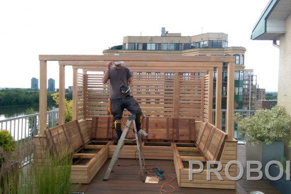 Probois teinture entretien patio 339