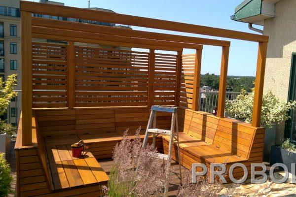 Probois teinture entretien patio 340