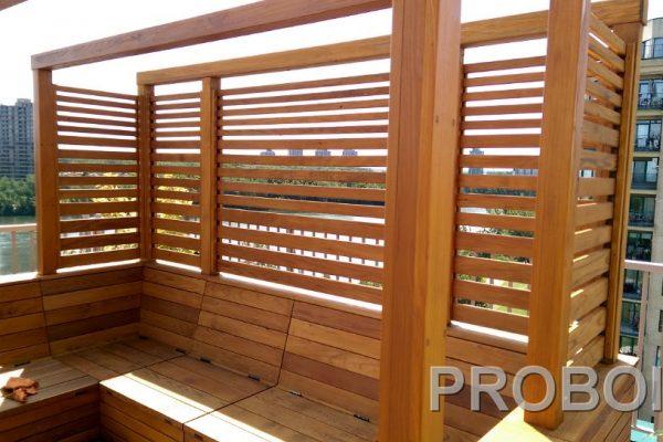 Probois teinture entretien patio 341