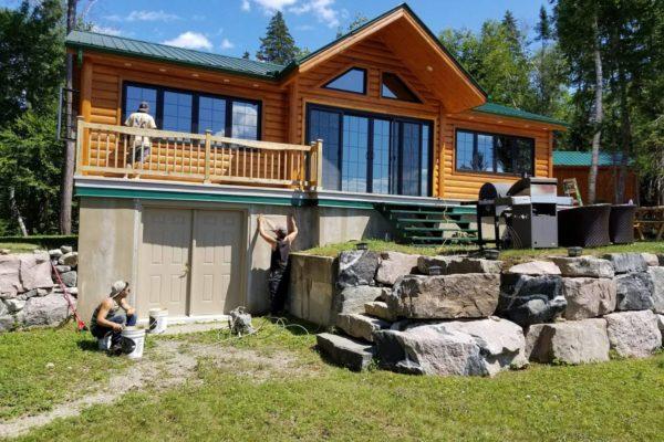 probois entretien bois rond maison 24